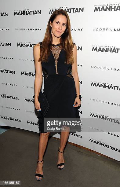 Manhattan Magazine Editor In Chief Cristina Cuomo attends Manhattan Magazine Men's Issue party hosted By Zach Quinto on April 9 2013 in New York...