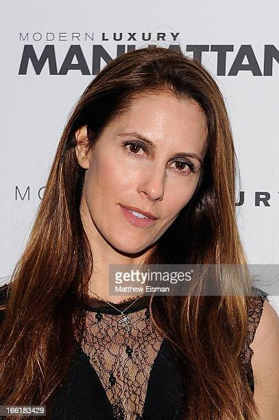Manhattan Magazine Editor in Chief Cristina Cuomo attends the Manhattan Magazine Men's Issue Party at PHD Rooftop Lounge at Dream Downtown on April 9...