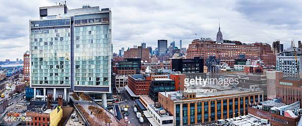 Manhattan, Meatpacking district, view of the town