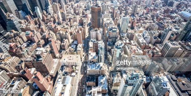 manhattan metropolis - isometric projection stock photos and pictures