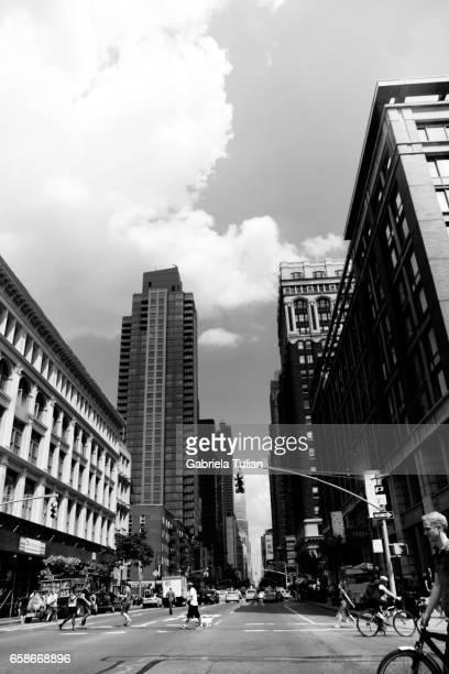 manhattan, new york city - soho manhattan - fotografias e filmes do acervo