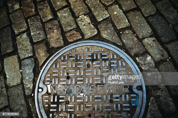 Manhattan New York Sewer Cover