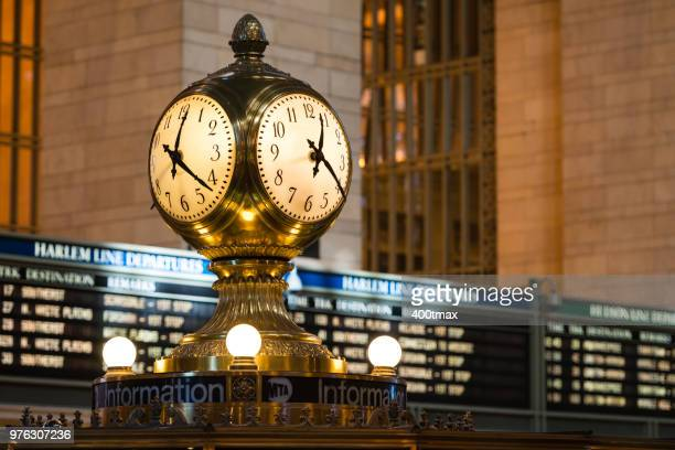 manhattan - grand central station stock photos and pictures