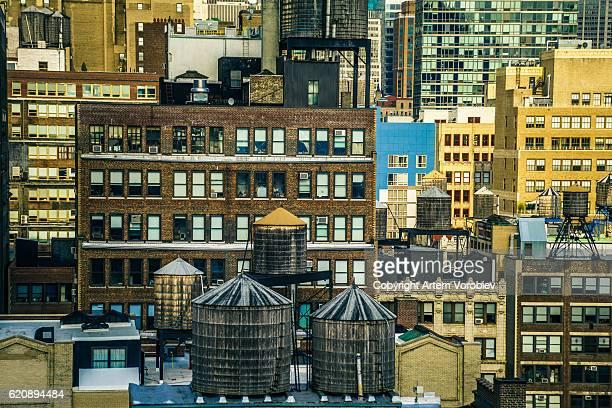 Manhattan rooftops