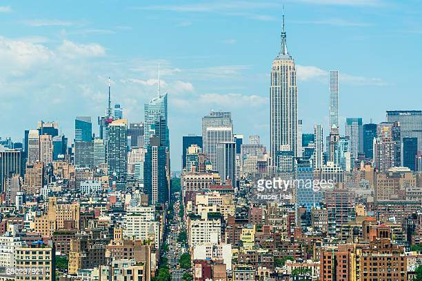 Manhattan skyline and Empire State Building