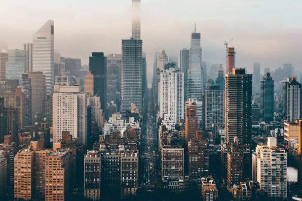 Manhattan Skyline From Above - Fine Art prints