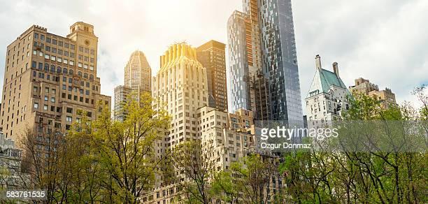 Manhattan skyline from Central Park, New York