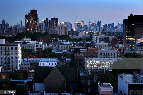 Manhattan Skyline from Harlem