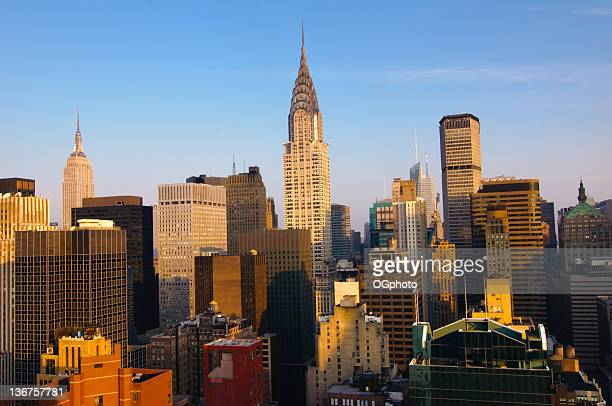 manhattan skyline in new york city - ogphoto stock pictures, royalty-free photos & images