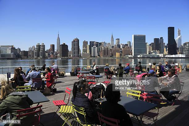 Manhattan skyline seen from Long Island City