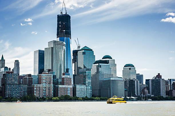 Manhattan Skyline With One World Trade Center, New York Wall Art