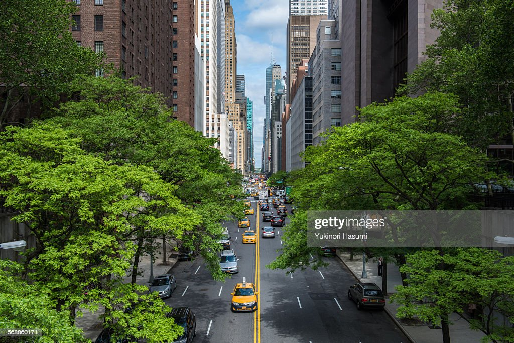Manhattan street : Stock Photo