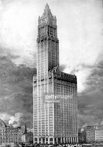 Manhattan The Woolworth Building 233 Broadway inaugurated in 1913