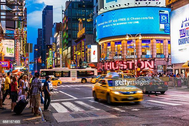 Manhattan, Times Square, view around 7th Avenue