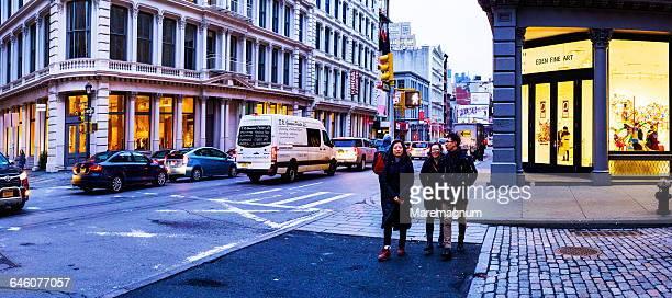 Manhattan, twilight walk in Soho