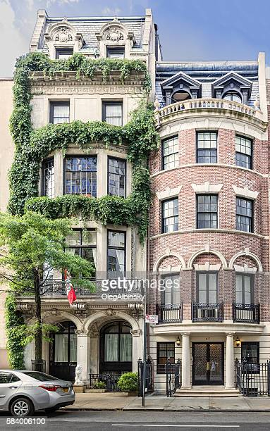 Manhattan Upper East Side Townhouses (Row houses), New York City.