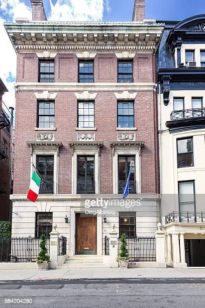 Manhattan Upper East Side Townhouses (Row houses), New York City.