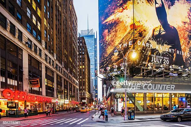 Manhattan, view near Times Square