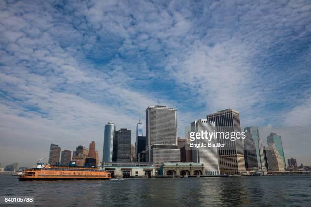 Manhattan water front
