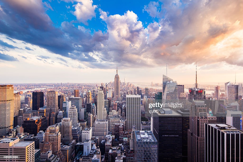 Manhattan-New York : Stock Photo