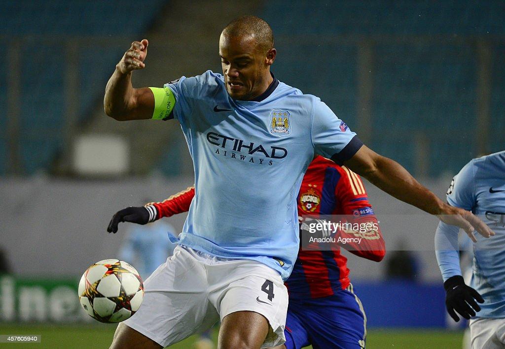 UEFA Champions League: CSKA Moscow v Manchester City : News Photo