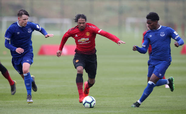 GBR: Manchester United v Everton: U18 Premier League