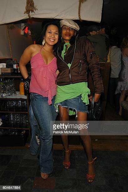 Mani Malee and Maya Jones attend CAIN SOUTHAMPTON at Southampton on June 24 2006