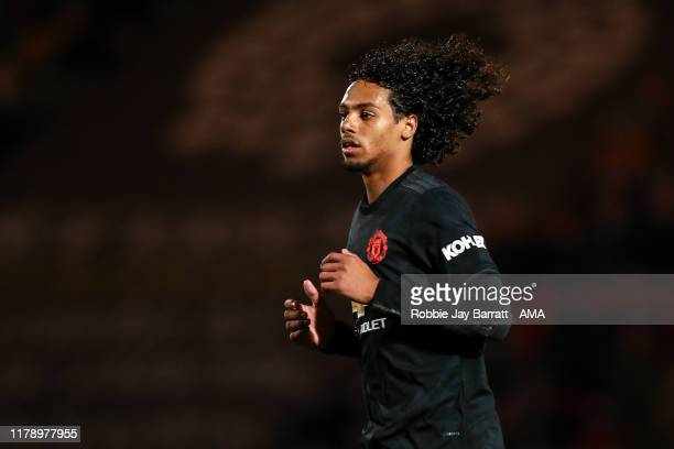 Mani Mellor of Manchester United U21 during the Leasingcom Trophy match fixture between Doncaster Rovers and Manchester United U21's at Keepmoat...