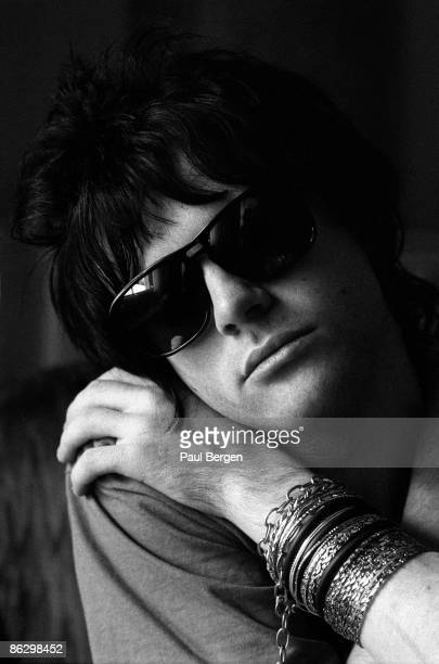 Manic Street Preachers guitarist Richey Edwards posed in Amsterdam Holland on March 23 1992