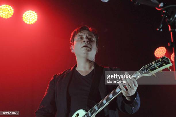 Manic Street Preachers perform at Glasgow Barrowlands on September 29 2013 in Glasgow Scotland
