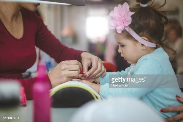 Manicure for girls