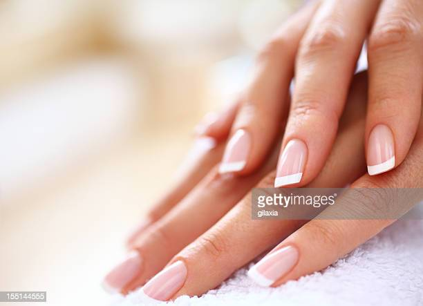 manicure. - fingernail stock pictures, royalty-free photos & images