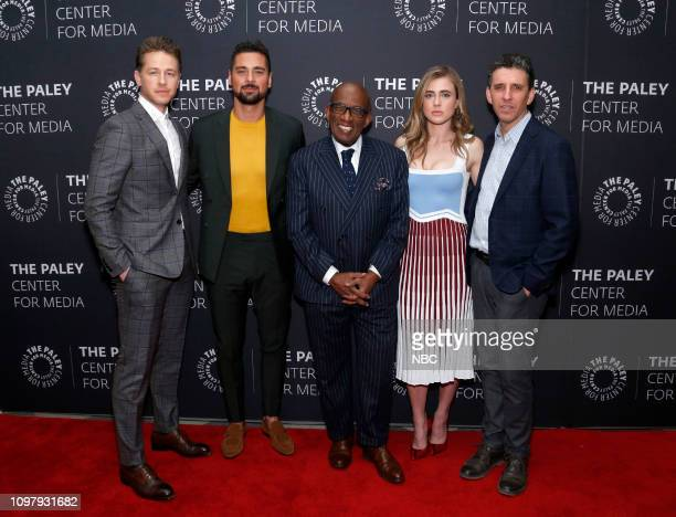 MANIFEST 'Manifest' Panel at Paley Live in New York City Pictured Josh Dallas JR Ramirez moderator Al Roker Melissa Roxburgh Executive Producer Jeff...