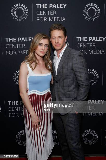 MANIFEST 'Manifest' Panel at Paley Live in New York City Pictured Josh Dallas Melissa Roxburgh
