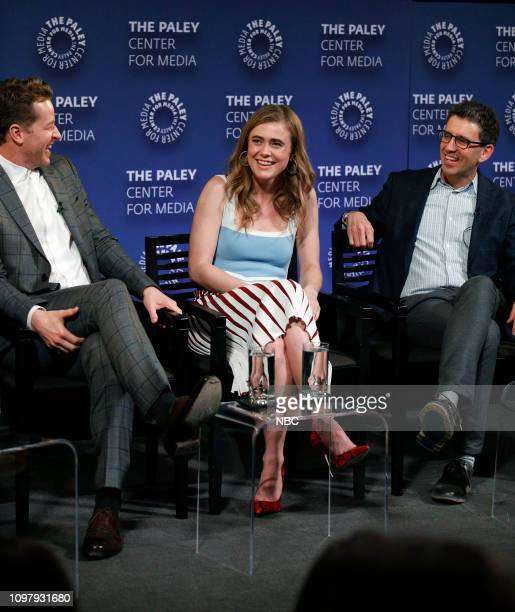 MANIFEST 'Manifest' Panel at Paley Live in New York City Pictured Josh Dallas Melissa Roxburgh Executive Producer Jeff Rake