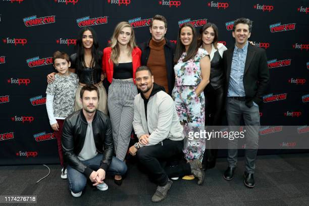 CON Manifest Panel Pictured Jack Messina Matt Long Parveen Kaur Melissa Roxburgh JR Ramirez Josh Dallas Athena Karkanis Luna Blaise Jeff Rake...