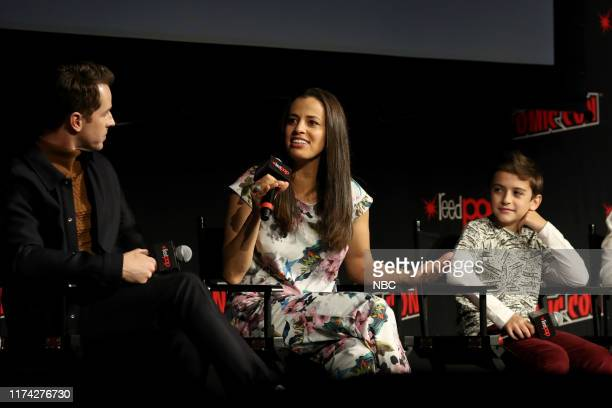 CON Manifest Panel Pictured Josh Dallas Athena Karkanis Jack Messina