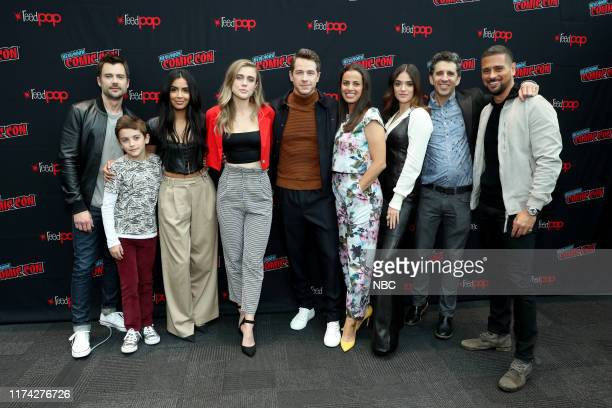 CON Manifest Panel Pictured Matt Long Jack Messina Parveen Kaur Melissa Roxburgh Josh Dallas Athena Karkanis Luna Blaise Jeff Rake Executive Producer...
