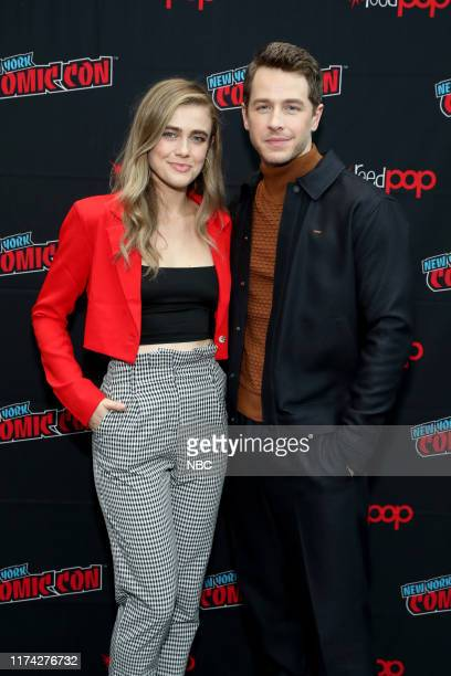 CON Manifest Panel Pictured Melissa Roxburgh Josh Dallas