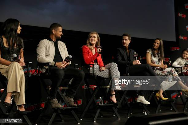CON Manifest Panel Pictured Parveen Kaur JR Ramirez Melissa Roxburgh Josh Dallas Athena Karkanis Jack Messina