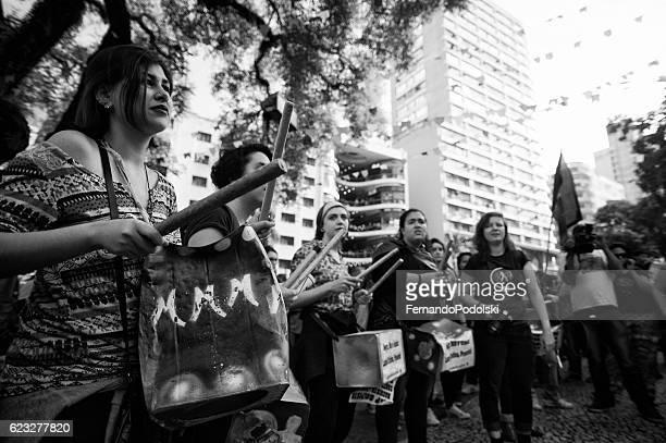 Manifestação do Gay mulheres