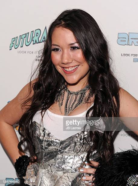 Manika attends Paris Hilton Electric Christmas party held at her private residence on December 7 2011 in Los Angeles California