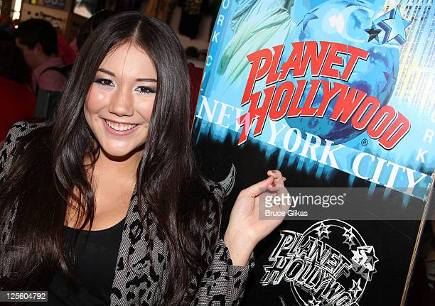 Manika visits Planet Hollywood Times Square on September 17 2011 in New York City