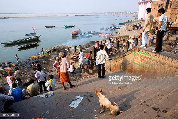 Manikarnika Ghat is the place where Hindus cremate dead bodies of their near and dear ones in the hope that would attain salvation Varanasi is a holy...