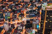 makati skyline metro manila philippines