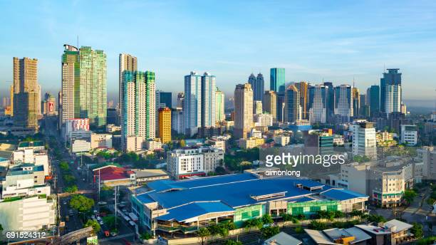 manila , philippines  cityscape - manila philippines stock pictures, royalty-free photos & images