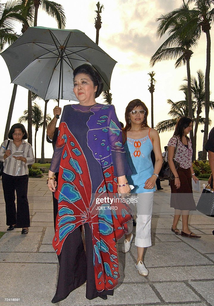 Former Philippines first lady Imelda Mar : News Photo