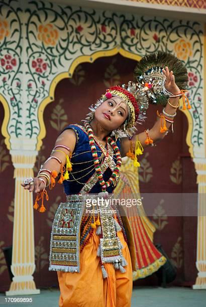 Manipur dance at Surajkund Crafts Mela Haryana Uttar Pradesh India