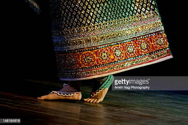 manipuri dance - indian female feet stock pictures, royalty-free photos & images
