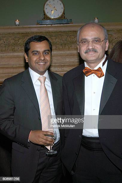 Manish Mittal and Bharat Bhise attend 3rd ANNUAL SANSKRITI BENEFIT at New York Racquet Tennis Club on May 24 2007 in New York City